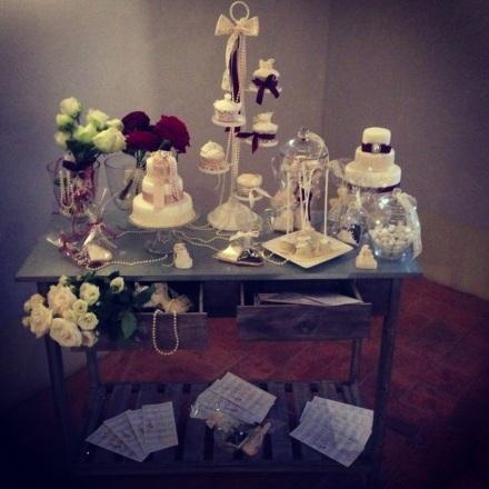 design della cerimonia wedding cake romantic wedding1