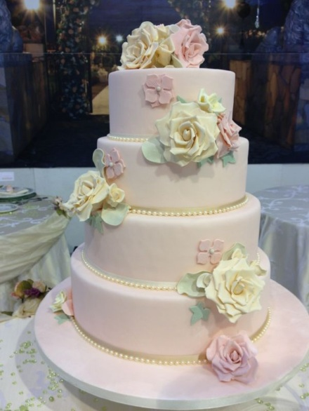 design della cerimonia wedding cake romantic
